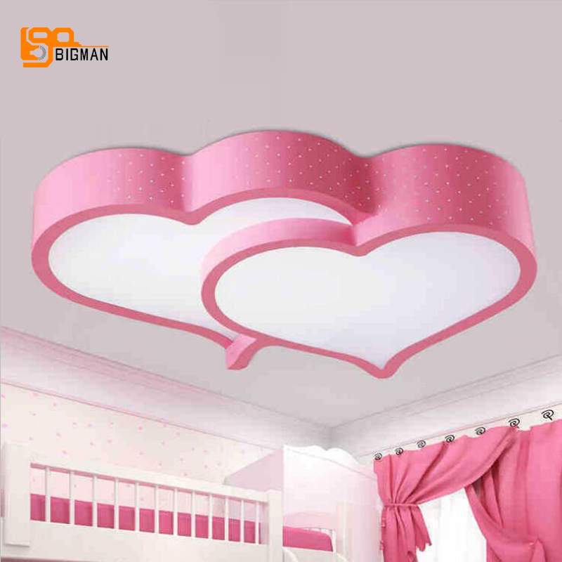 new modern arcrylic LED ceiling light fixtures length 580mm beautiful bedroom lamp free shipping