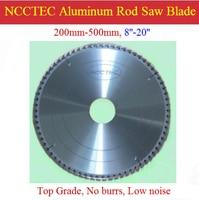 8 100 Teeth TOP Grade 200mm THIN Carbide Aluminum Cutting Blades NAC810TG Fast FREE Shipping