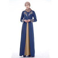 928dff5c6630 Middle East Bronze Printed Week Dress Female New Style Muslim Women Muslim  Dress
