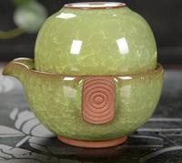 New Drinkware Quik Cup Easy Bubble Purple Clay Travel Dehua Blue Teapot Cup Bowl Office Tea