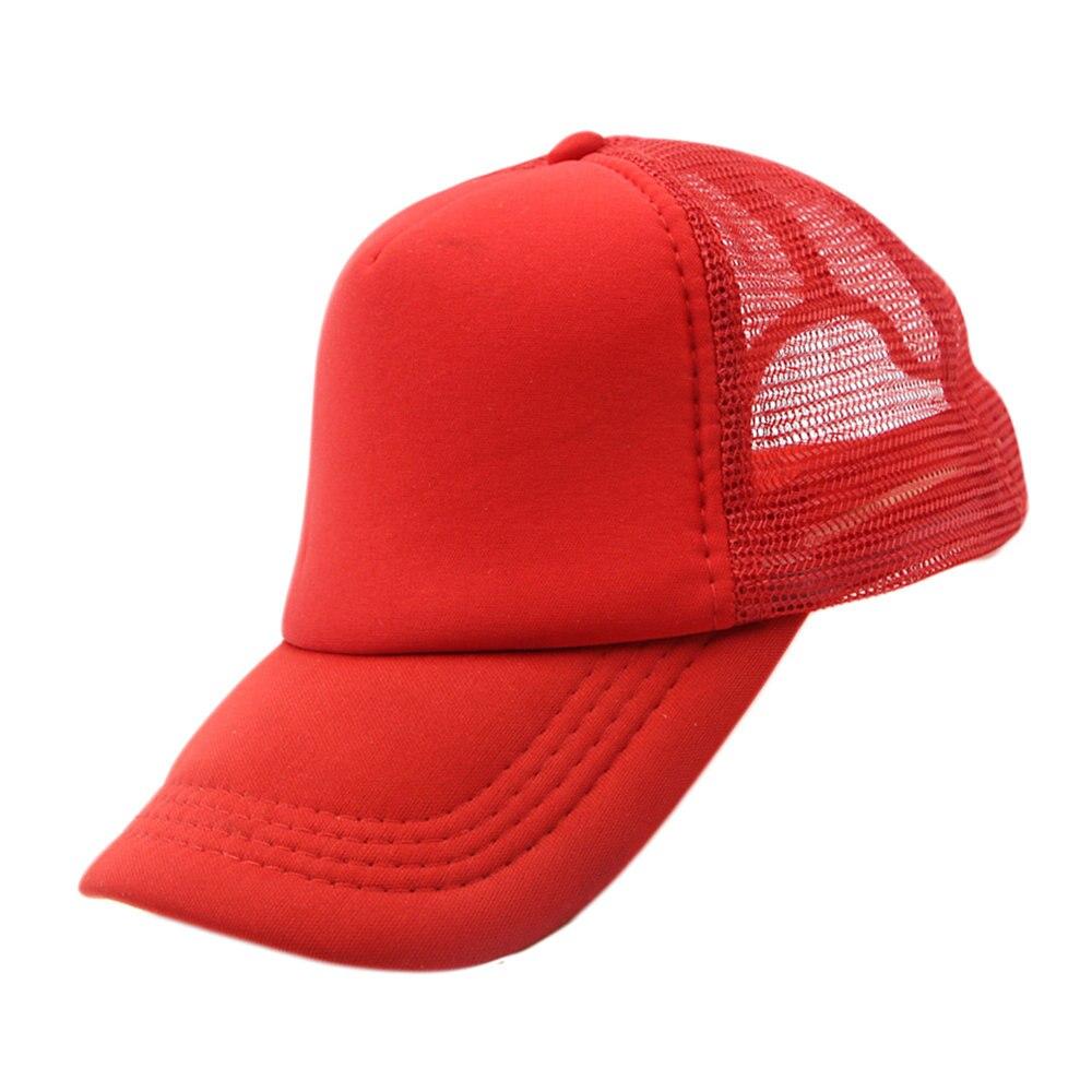 Summer Plain Trucker Mesh Women's Hat Snapback Blank   Baseball     Cap   Adjustable For Men Sport Sun Hat 2018 Fashion Hip Hop   Caps