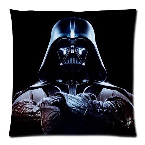 """Hot Koop Custom Star Wars De Force Wekt Flanel Ritssluiting Decoratieve Kussensloop Met Maat 16 """"x 16"""", 18 """"x 18'', 20 """"x 20"""", 24 """"x 24"""""""
