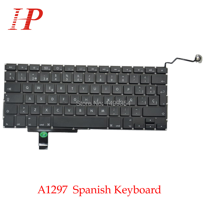 "Macbook Pro 13/"" A1278 2009-2012 Spanish SP Keyboard Teclado With Backlit"
