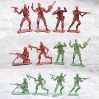 Kids 307pcs Military Plastic Soldier Model Toy Army Men Figures Accessories Kit Set Model Action Gift Toy For Children Boys