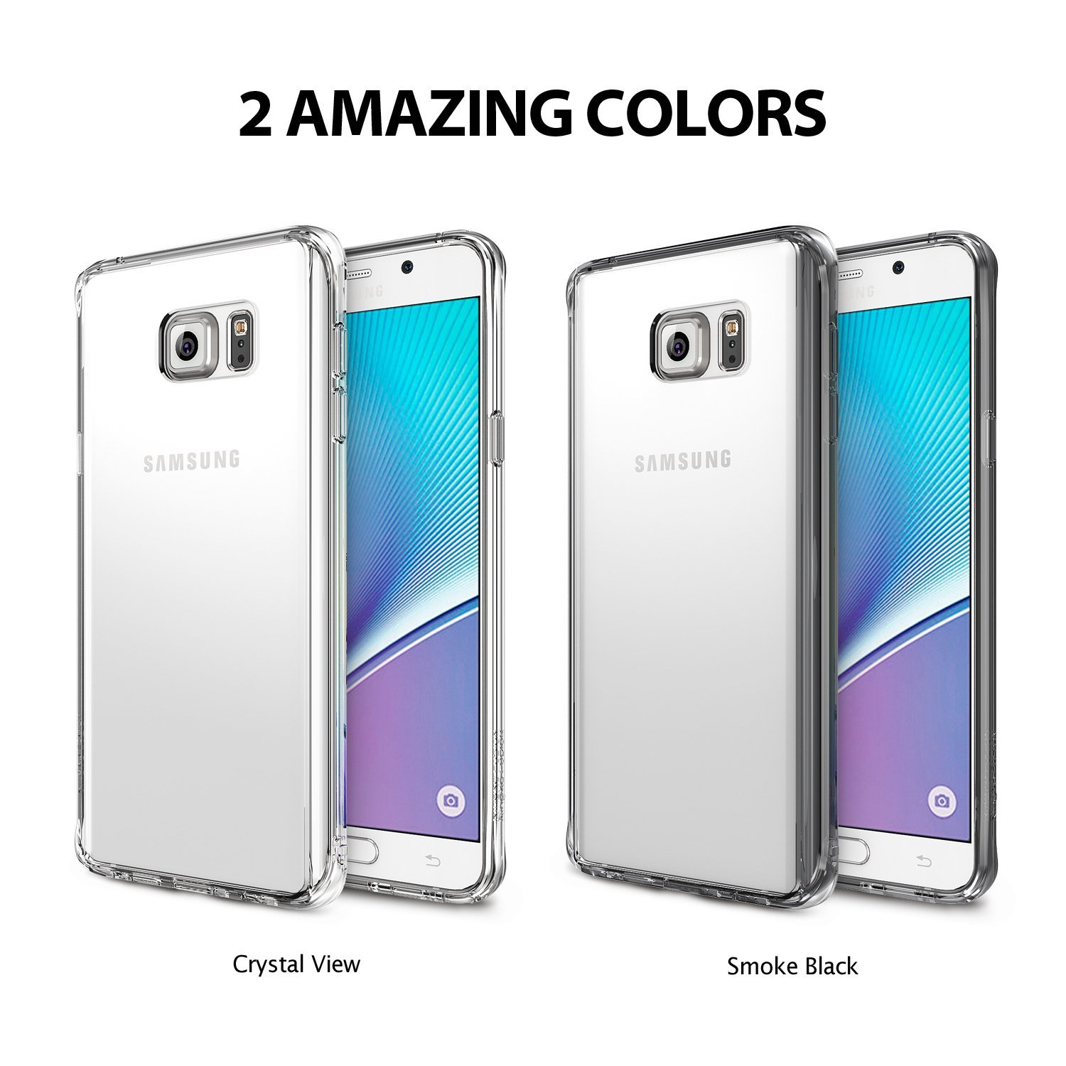 on sale 7f172 bba36 US $11.99 |100% Original Ringke Fusion / Slim Case for Samsung Galaxy Note  5 Full Protection Back Cover Phone Cases for Galaxy Note 5-in Fitted Cases  ...