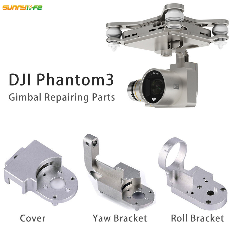 Sunnylife Phantom 3 Replacement Protector Yaw Roll Bracket Aluminum Alloy Cover for DJI Phantom 3 Professional Advanced Gimbal