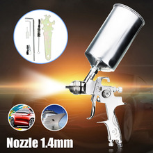 Professional Spray Gun For Painting Cars 1.4mm Nozzle 1000ML Gravity HVLP Spray Paint Gun Airbrush Pistols Aerografo sat0087 hvlp pistola de pintura mini hvlp spray gun for painting professional airbrush paint spray gun hvlp spray gun gravity