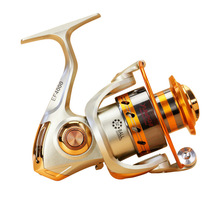 Yumoshi EF 500-9000 Smooth Reel Metal 12+1BB Carp Spinning Casting Bait Runner Fishing Reels Pesca Wheel