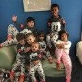 100% Хлопок 1-5Y Детей Микки Минни Маус Печати Одежда Наборы БОБО ВЫБИРАЕТ Детские Мальчики Девочки рубашки брюки Детские пижамы наборы