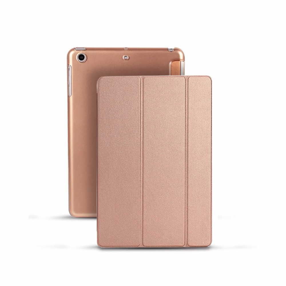 Case Cover For Ipad Pro 10.5 2017, Silk Slim Protective Shell Case PU Stand Smart Cover Case For Ipad 10.5 2017 Tablet Case