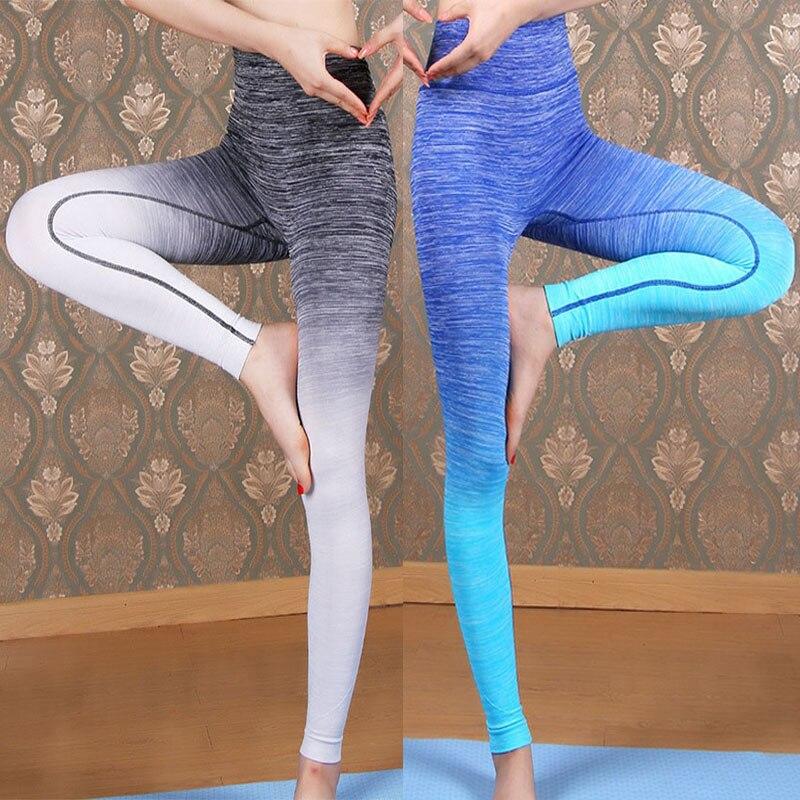 Femmes Bodybuilding Workout QUICK-DRY Sportting Leggings Gymming Fonctionne Pantalon Haute Taille Exercice Fitness Yogaing Vêtements Vêtements