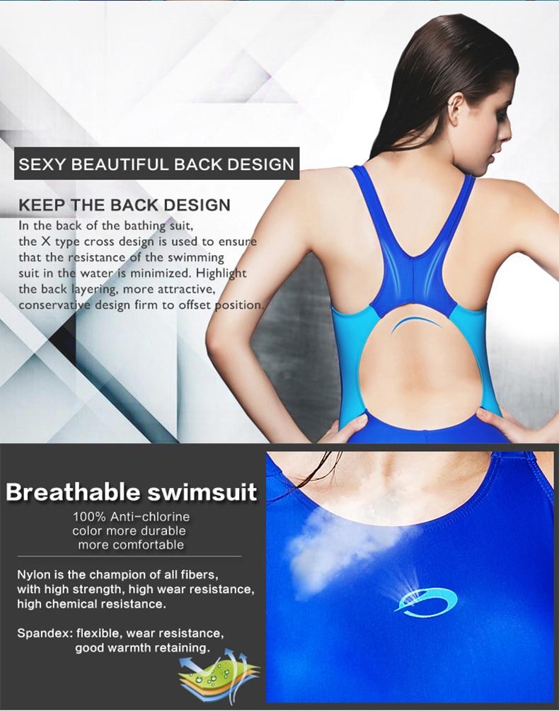 Image 5 - Phinikiss triathlon terno azul de emagrecimento um pedaço maiô  feminino esportes banho feminino profissional corrida mayoracing swim  suitswomen triathlon suittriathlon suit