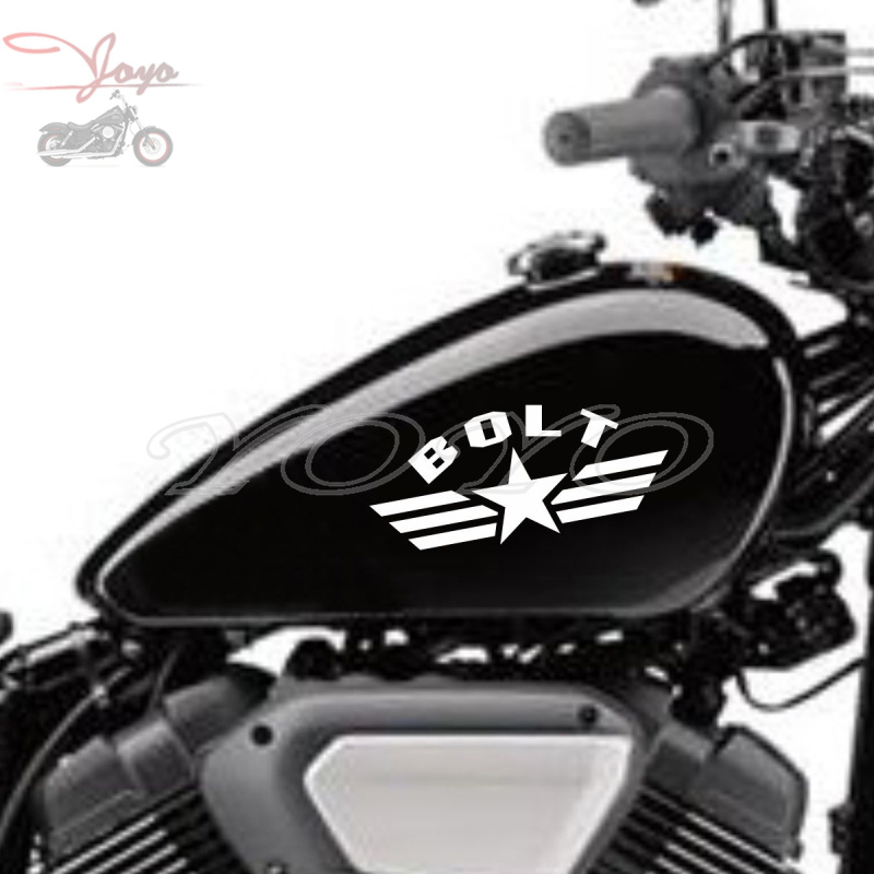 Star Wings Decals Stickers 0.1mm PVC Decal Sticker For <font><b>Yamaha</b></font> <font><b>XVS950</b></font> Bolt image