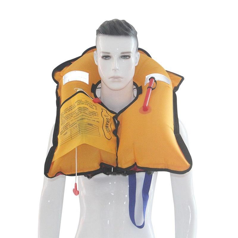 Женская Мужская Автоматическая надувная Спасательная куртка Профессиональный Взрослый плавающий дрейфующий спасательный жилет купальники для водного спорта для плавания выживания