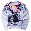 2016 Winter men's hoodies print Classic cartoon sweatshirt Fashion clothing 3d Harajuku top thrasher hoodie hip hop