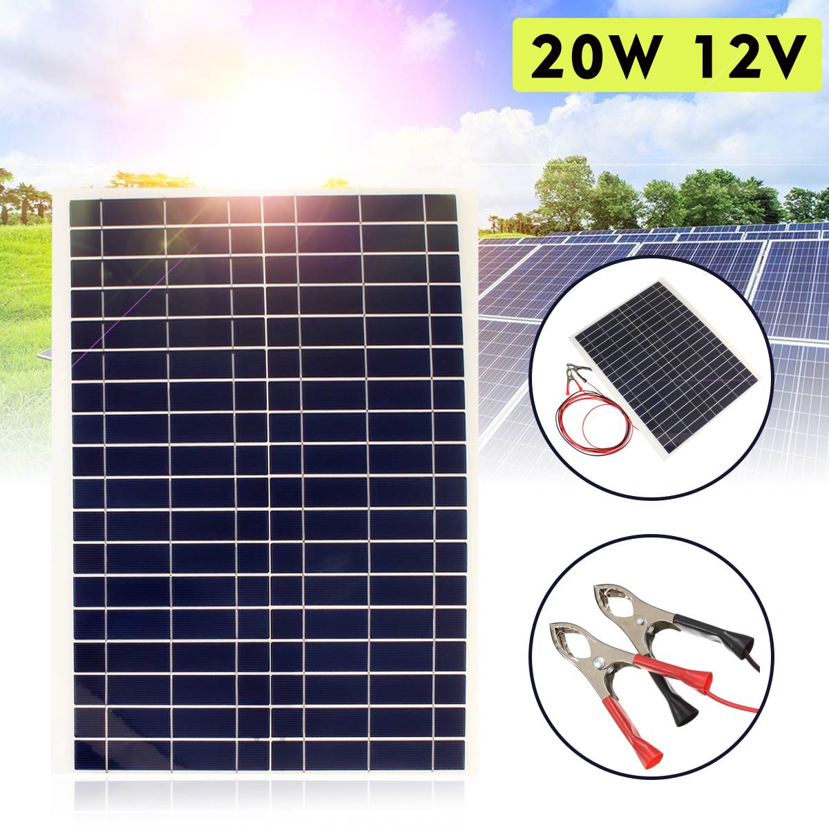 leory 110w 12v flexible solar panel diy battery system sunpower solar cells charger for rv boat car with 1 5m cable 1180mmx540mm LEORY Flexible Solar Panel Plate 20W 18V Solar Charger For Car Battery 12V Sunpower Polysilicon Silicon Cells Module Kit