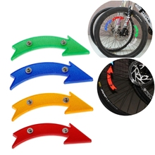 MTB Road Bike Bicycle Reflector Cycling Arrow Shape Safe Warning Accessories New