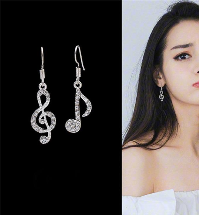 Geometric Music earrings