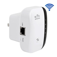 Wireless 802.11N/B/G WPS 300Mbps WiFi Repeater Network AP Router EU/US/UK Plug Range Signal Expander Booster Extend Amplifier