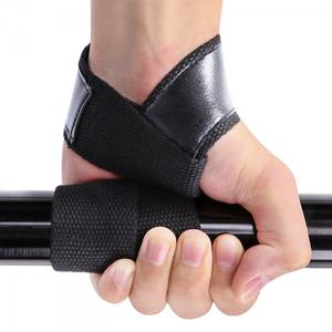 1 pair Weight Lifting Wrist Band Lifting Straps Protection Strap with Neoprene Padded No-Slip Weightlifting Hand Bar Gym