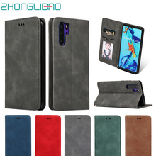 Fundas P30 Pro Flip Leather Case for Huawei P30 Mate 20 P20 Lite Magnetic Coque P Smart Plus Z 2019 Card Wallet Stand Book Cover