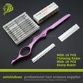 "7"" with sharp/thin blade hair razor hairdressing razor blade haircut scissor straight  thinning hair straight edge hair scissors"