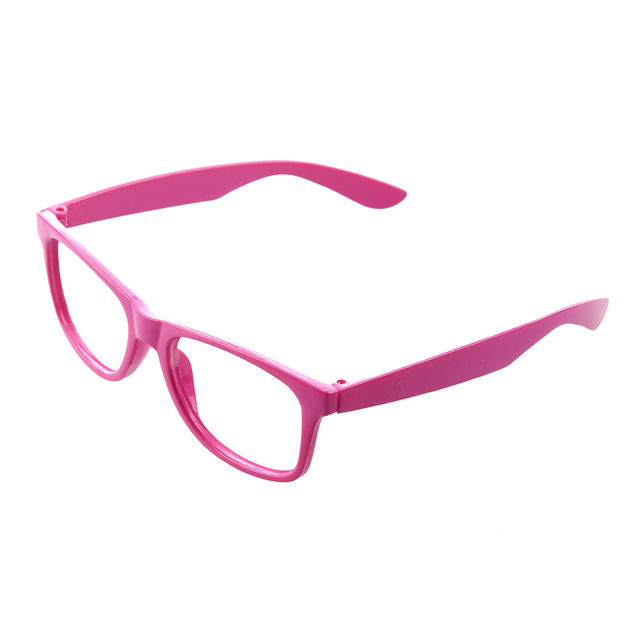 76d6387a09f Stylish Boys Girls Children Kids Party Accessories Glasses Frame No Lenses  New -pink