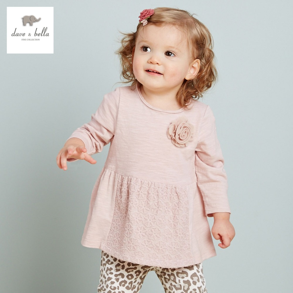 DB2207 dave bella  autumn fashion print princess toddler dress baby clothes infant dress baby girl floral baby dress db5498 dave bella baby girl lolita dress stylish printed peter pan collar dress toddler children dress