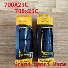 Original 700c estrada bicicleta grande esporte corrida 700 * 23c 700 * 25c estrada pneus grandsport corrida