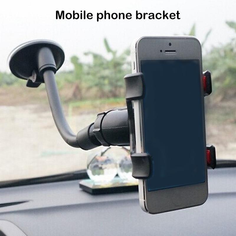 1pcs Universal 360 Degree Rotating Windshield Car Phone Sucker Mount Bracket For IPhone Huawei GPS Car Phone Holder Stand