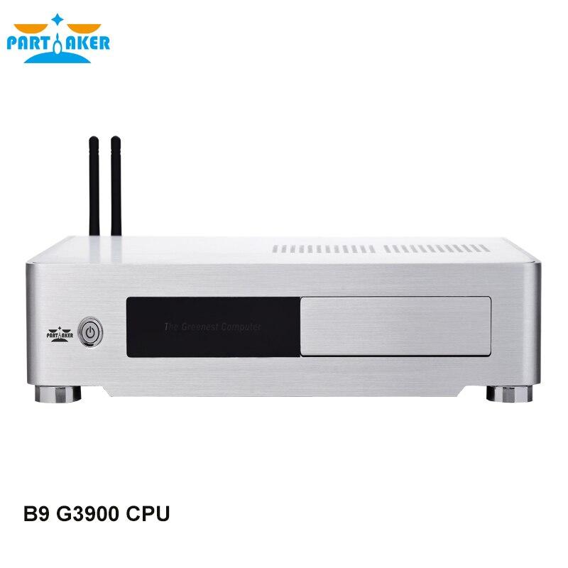 Partecipe B9 SKYLAKE Mini PC CPU con G3900 2 m Cache 2.80 ghz Memoria DDR4 VGA HDMI DVI Tre Display porte HTPCPartecipe B9 SKYLAKE Mini PC CPU con G3900 2 m Cache 2.80 ghz Memoria DDR4 VGA HDMI DVI Tre Display porte HTPC