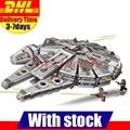 1381PCS Lepin 05007 Bela 10467 Force Awakens Star Wars Han Solo Millennium Falcon Building Kit Set Kids Toy 75105