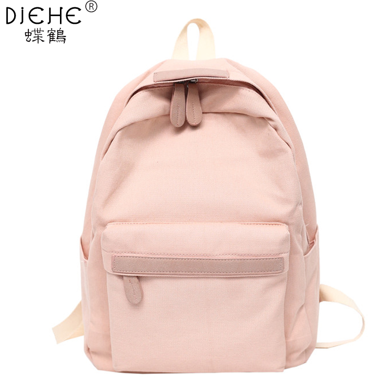 2019 Women Canvas Backpacks Ladies Shoulder School Bag Backpack Rucksack for Girls Travel Fashion Bag Bolsas Innrech Market.com