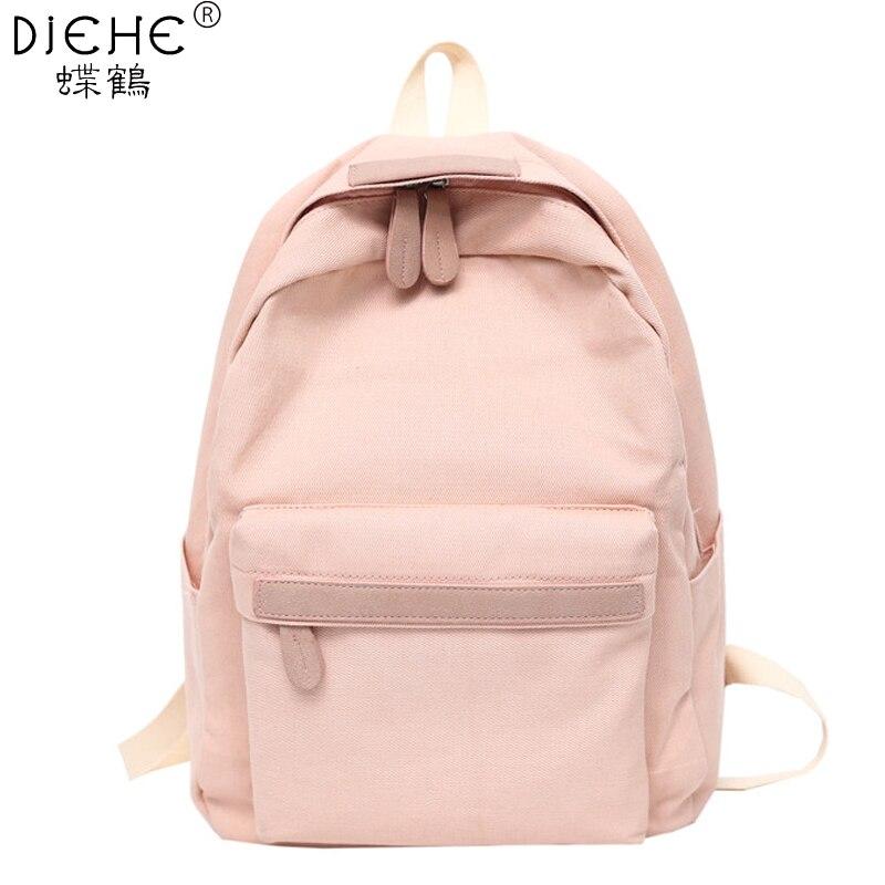 2019 femmes toile sacs à Dos dames épaule Sac d'école Sac à Dos Sac à Dos pour filles voyage mode Sac Bolsas Mochilas Sac A Dos