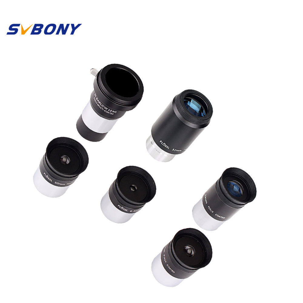 SVBONY 1 25 Plossl Eyepiece Kit 6 3mm 10mm 12 5mm 20mm 32mm Multi Coated 2