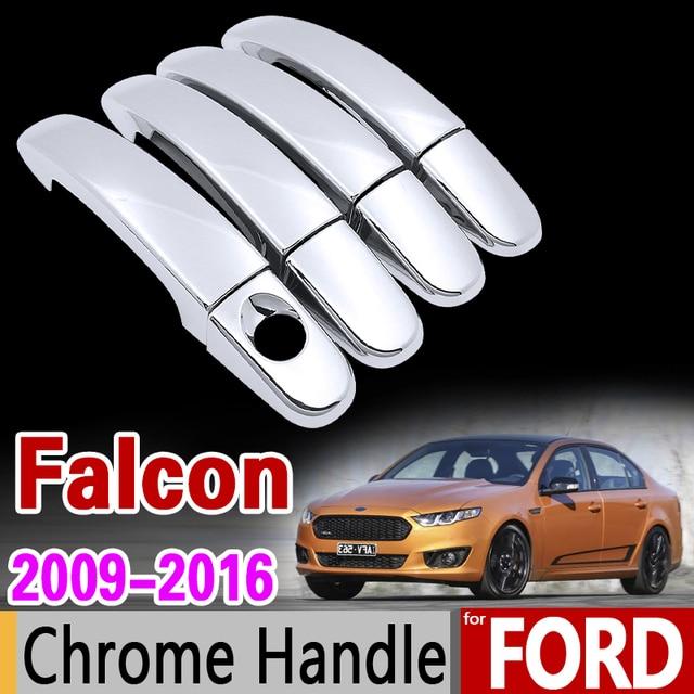 For ford falcon fg 2009 2016 chrome handle cover trim set fgx g6e xr6 xr8