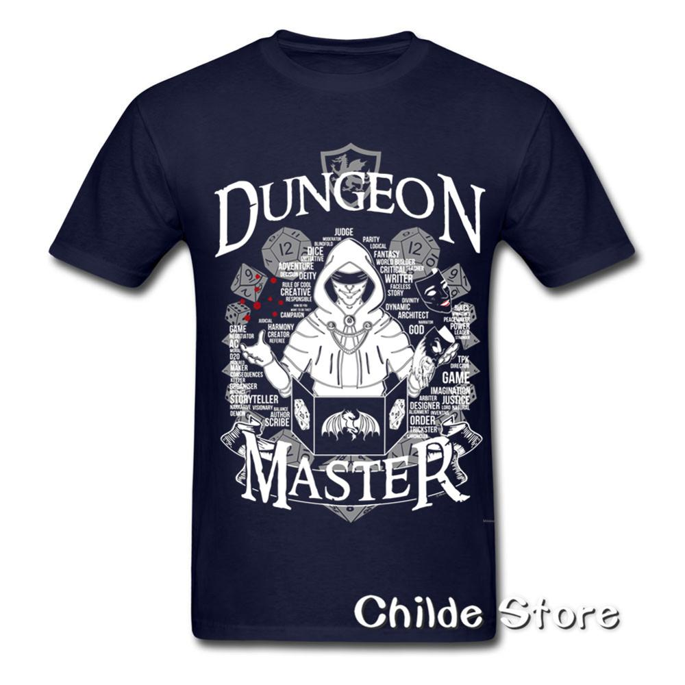 2018 New & Now on Sale 3D Print Im the DM Dungeon Master DnD D&D Dungeons  and Dragons Inspired for men t shirt big size 3