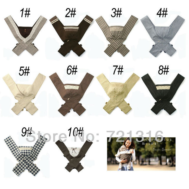 Minizone Portable Baby Carrier Wrap Backpack Sling Belt Export To