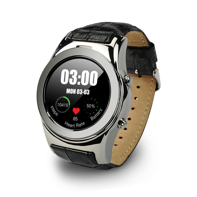 2017 Новый A8S Круглый Smartwatch Поддержка СИМ-Карты, Bluetooth, WAP, GPRS SMS MP4 USB Для iPhone iOS Android Akilli Saatler Smart Watch