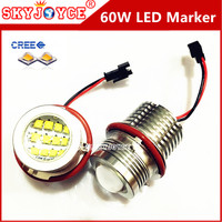 2X 60W Led Marker Angel Eyes For E39 E87 E61 E63 E64 E83 E53 Car Styling
