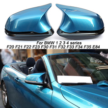 цена на For BMW F30 F32 F33 F20 F22 F23 F36 X1 Mirror M3 M4 Look Rear View  Cover       F87 M2 carbon mirror