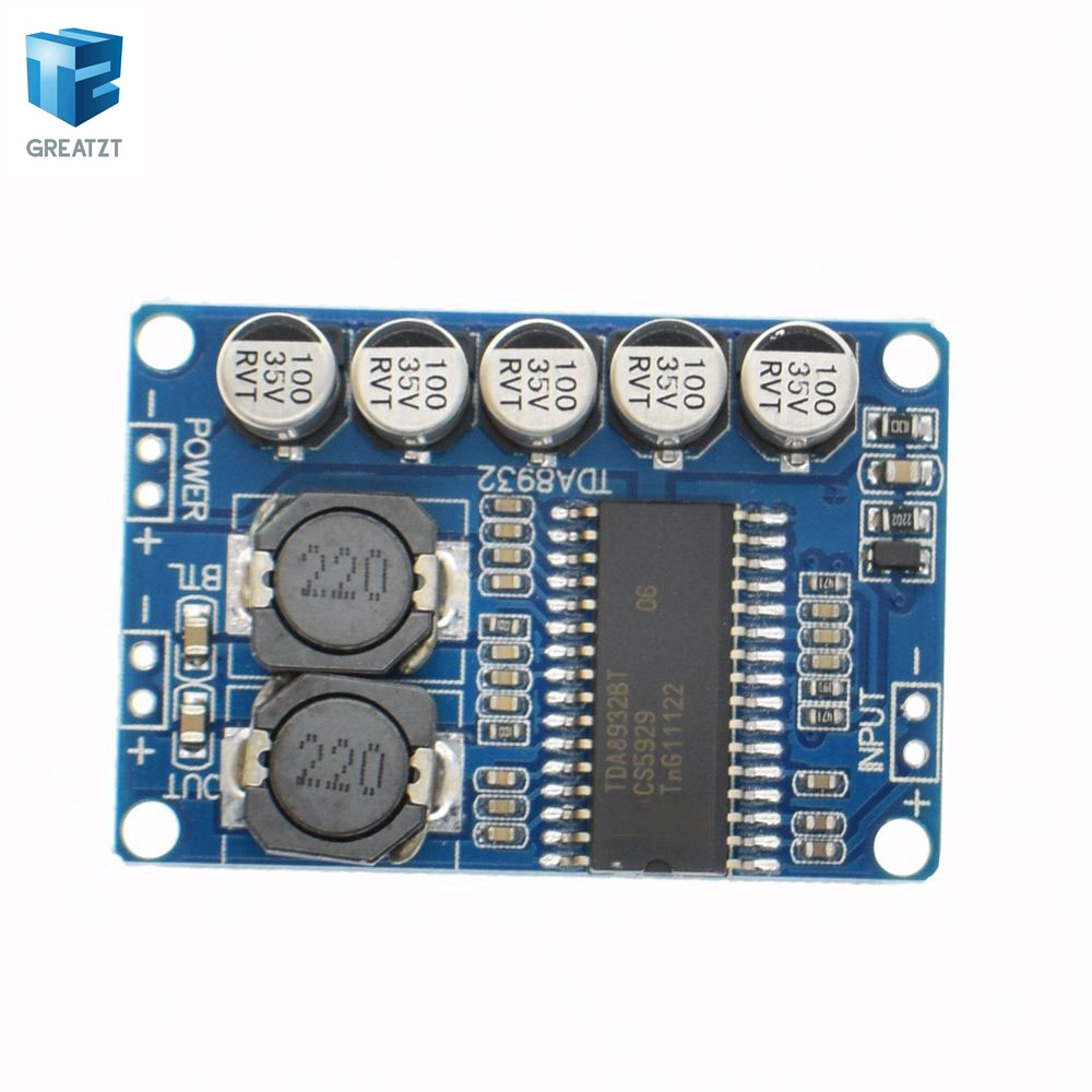 1pcs digital power amplifier board module 35w mono amplifier module 1pcs digital power amplifier board module 35w mono amplifier module high power tda8932 low power consumption in integrated circuits from electronic altavistaventures Choice Image