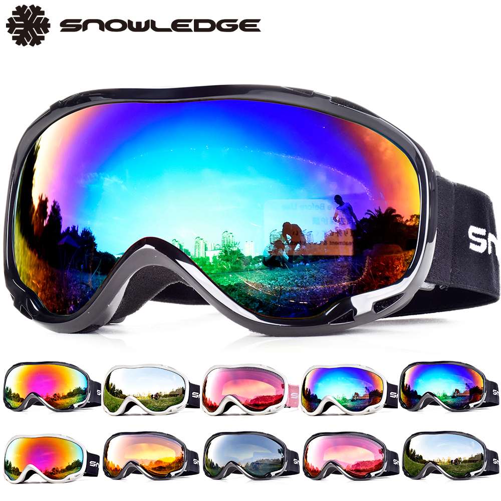 Ski Goggle Snowboard Ski Goggles Males Snowboarding Eyewear Ladies Grownup Twin Layers Lens 100% Uv400 Snowboard Goggles Glasses For Snowboarding
