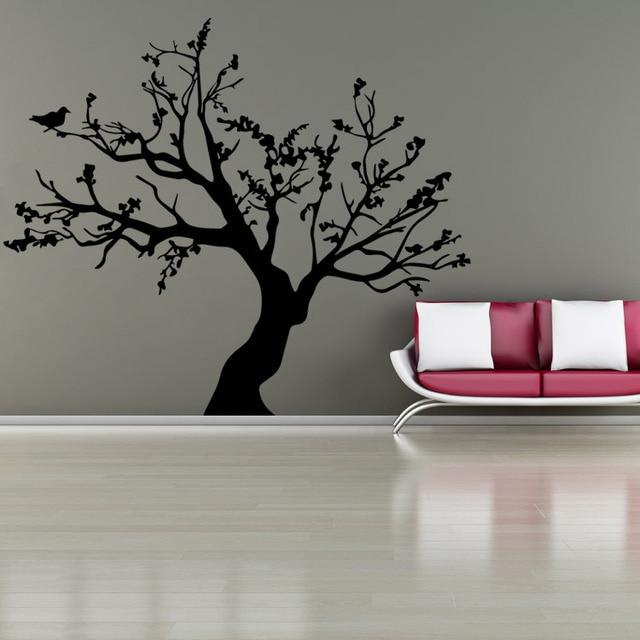 AWOO Birds On The Tree Vinyl Wall Sticker Wall Art Decorative Stickers,Glass  Window Sticker Part 64