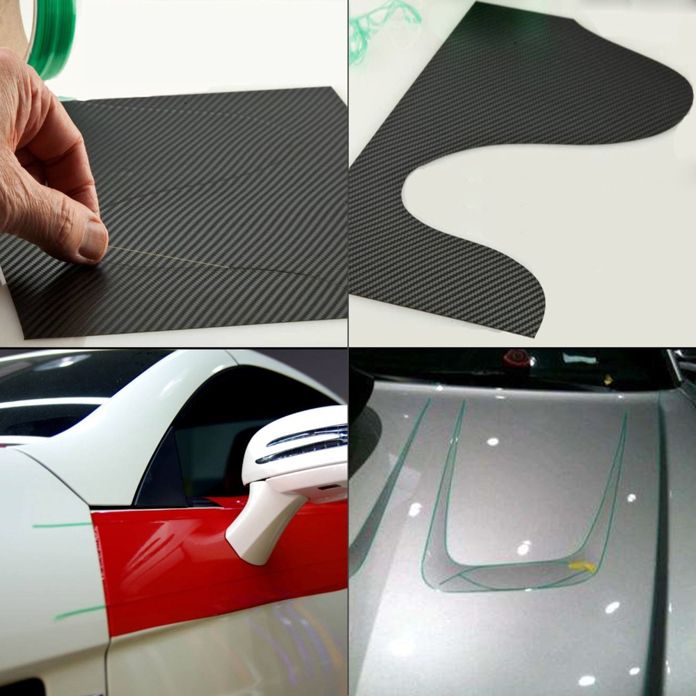cheapest EHDIS 5 50M Knifeless Tape Design Line Carbon Fiber Vinyl Wrap Film Car Stickers Cutting Tape Knife Styling Tool Car Accessories