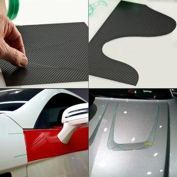 Ehdis 50 m knifeless fita design linha adesivos de carro filme vinil envoltório fita de corte de fibra carbono faca estilo do carro ferramenta acessórios