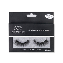SEXYSHEEP 2 pairs natural false eyelashes fake lashes makeup kit 3D Mink Lashes eyelash extension mink eyelashes maquiagem