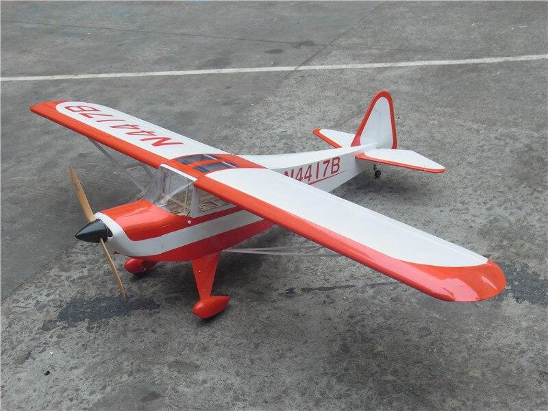 Taylorcraft 90 87,4 дюймов/2222 мм Электрический самолет модель пробкового дерева с фиксированным крылом RC самолет ARF Спорт на открытом воздухе игрушк