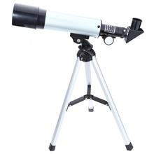 Best price F36050M Astronomical Landscape Lens Single-tube Telescope for Beginners Astronomy 90 Degrees Outdoor Monocular Focal Length 360