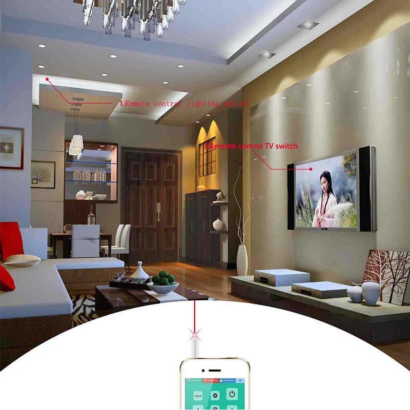 3,5 мм мини мобильный телефон умный инфракрасный ИК-передатчик пульт дистанционного управления разъемом для кондиционера ТВ домашний излучатель для iPhone